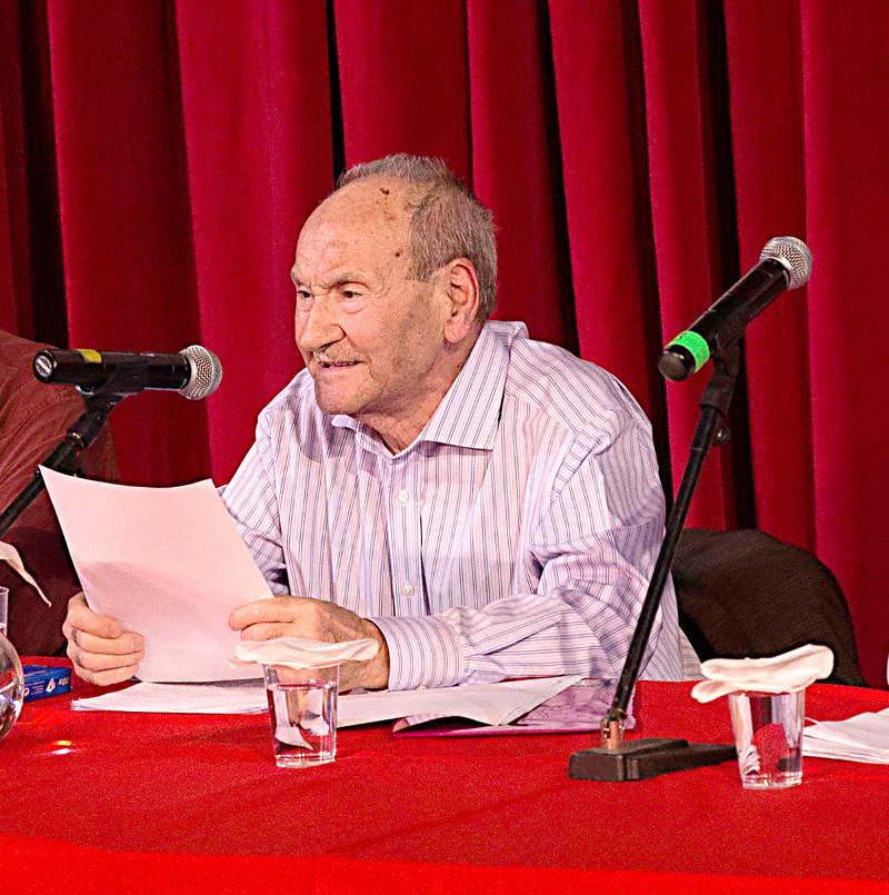 """Ισαάκ Ιορδανίδης - Κεντρικός Ομιλητής στην εκδήλωση για τα 50 χρόνια από την έκδοση της """"Αναγέννηση"""""""